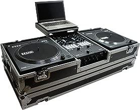 Harmony HC2T1272WLT DJ Battle Coffin for (2) Rane 12 Turntables & Rane 72 Mixer