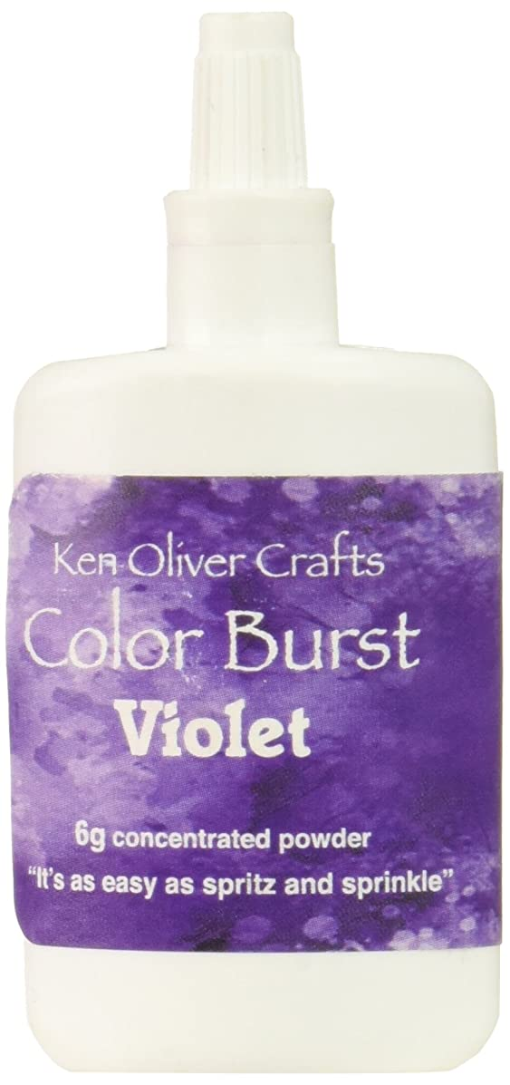 Contact USA KN06103 6g Violet Crafts KOliver Color Burst