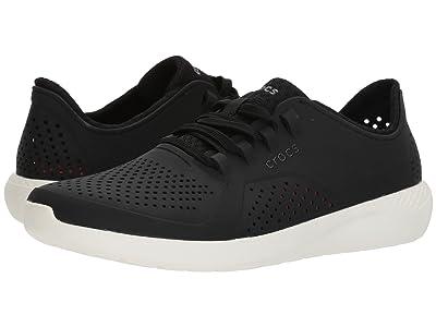 Crocs LiteRide Pacer (Black/White) Men