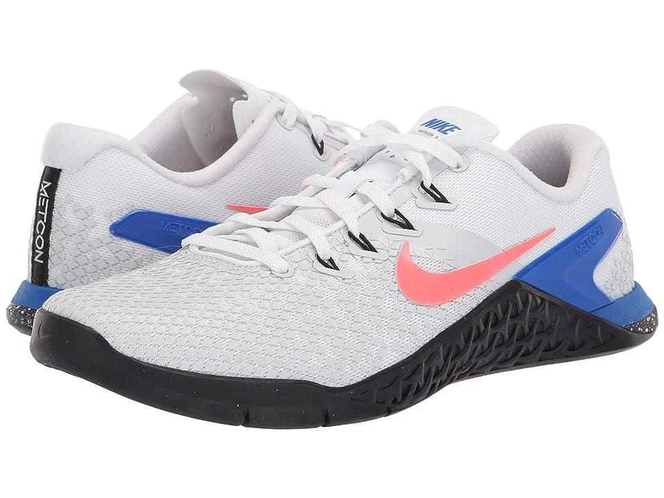 Nike Metcon 4 XD (White/Flash Crimson/Racer Blue/Black) Men