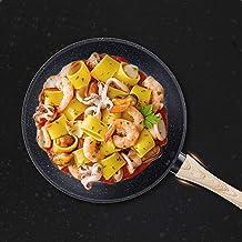 1PC Pan Maifan Non-Stick Cooking Pot Pan Frying Pan Maifan Stone Wok 3 Sizes Happy house