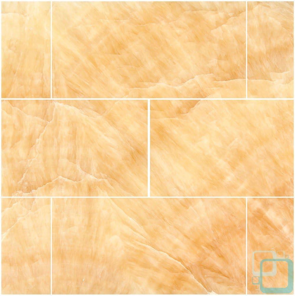Honey Onyx San Francisco Mall 3 X Max 47% OFF 6 Polished Subway Tile Brick Premium