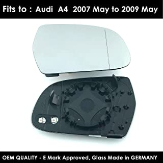New Wing Mirror Glass AUDI A3 Driver Side 1994-/>2000