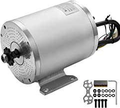 Mophorn 2000W 60V Electric Brushless DC Motor 42A 5600RPM High Speed Brushless Motor with 11 Tooth Sprocket and Mounting Bracket for Go Karts Scooters & E-Bike Model BY1020D