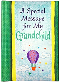 """Blue Mountain Arts Little Keepsake Book """"A Special Message for My Grandchild"""" 4 x 3 in. Sentimental Pocket-Sized Birthday,..."""