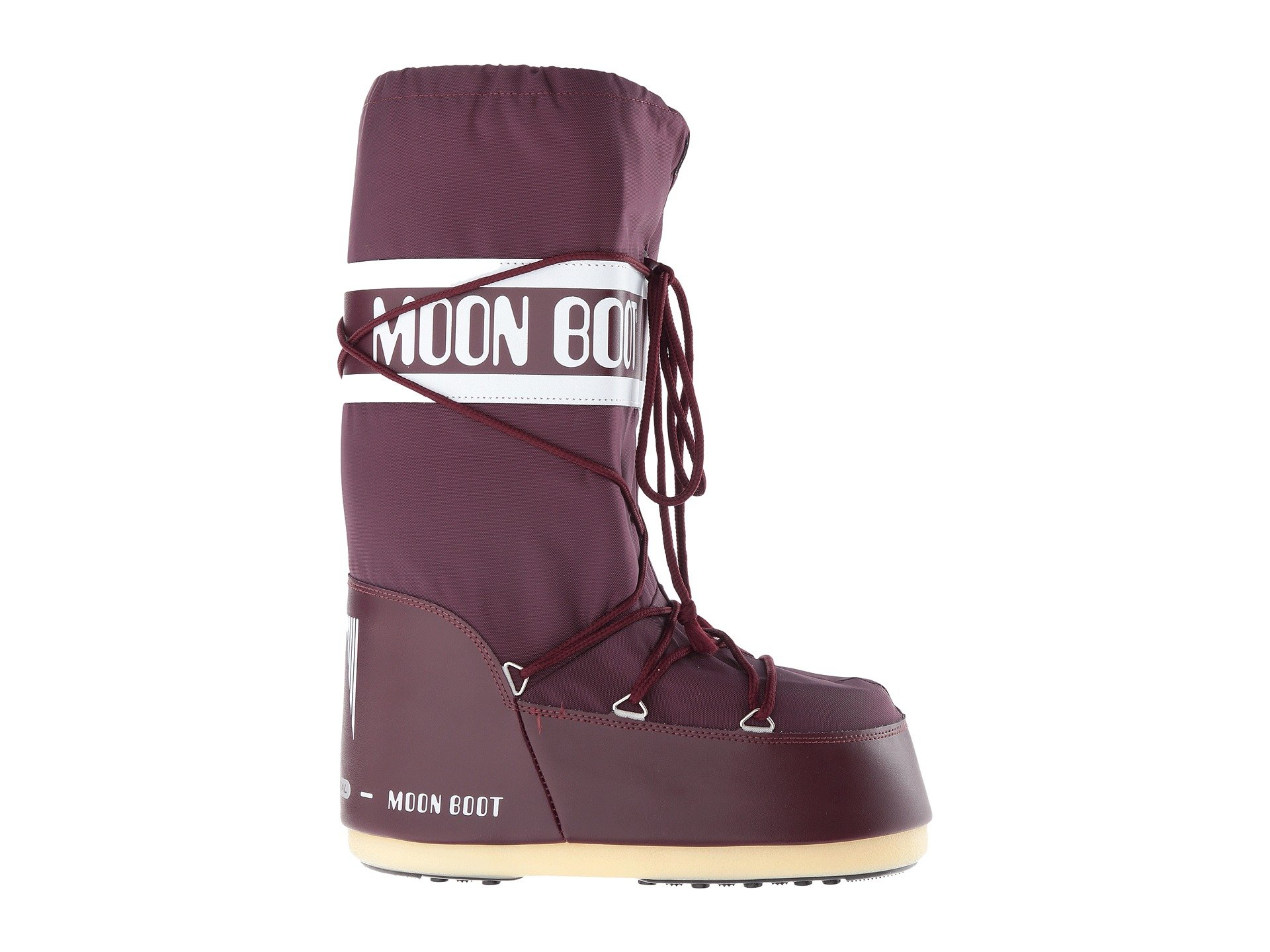 Nylon Moon Moon Tecnica Boot® Tecnica Boot® Tecnica Nylon Burgundy Burgundy Moon RU7qSzw