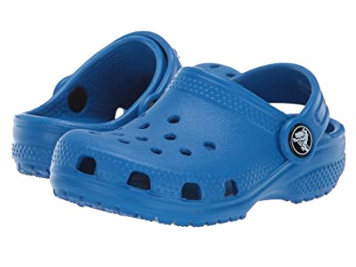 Crocs Kids Classic Clog (Toddler/Little Kid) (Bright Cobalt) Kids Shoes