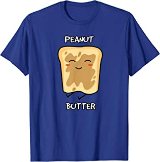 Peanut Butter and Jelly Matching Couple Best Friend Gift T-Shirt