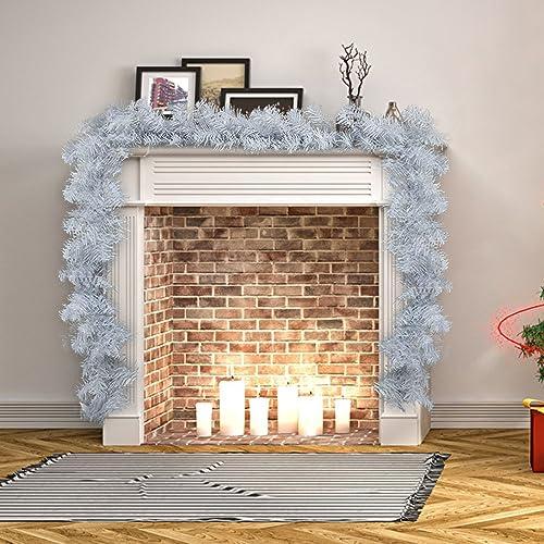 Christmas Fireplace Decoration Amazon.co.uk