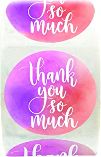 Best personalised thank you stickers Reviews