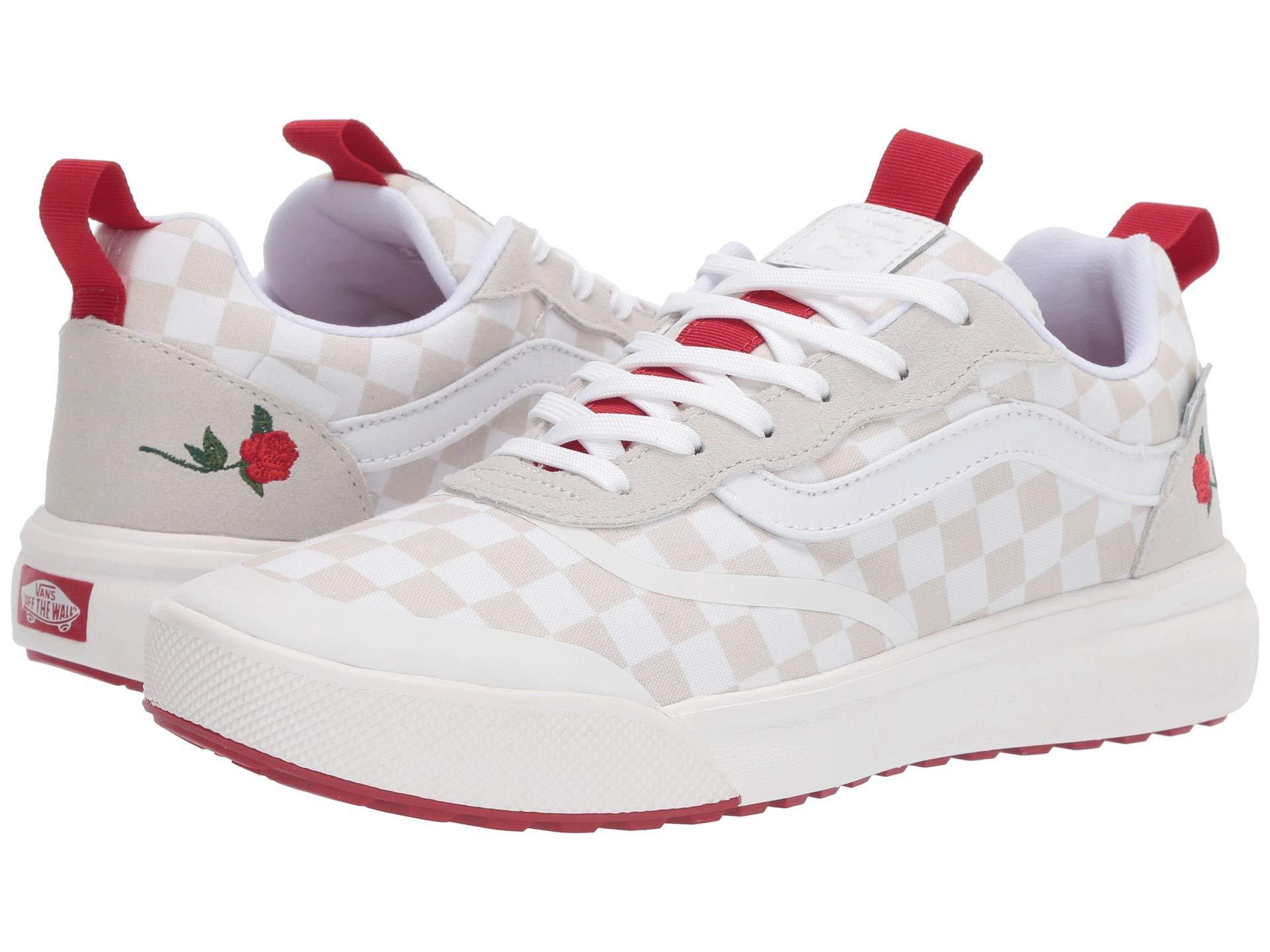 White Shoes Athletic Vans Hurst leila Ultrarange Rapidweld checkerboard  amp  Sneakers PSqzRIw f5008b328