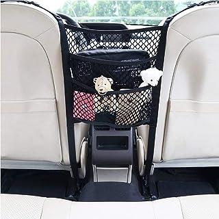 ROSETOR 1 x Auto Netz Aufbewahrungsnetz, Auto Rücksitz Organizer, Tasche für Haustiere, Kinder, Barriere (25 x 30 cm).
