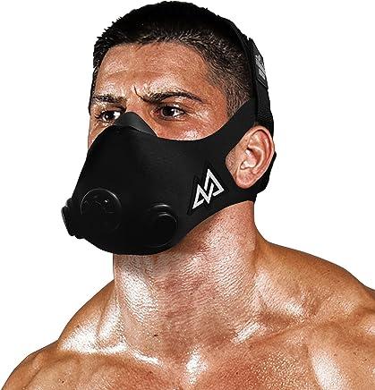 TRAININGMASK Training Mask [Black Out - Large] 2.0 Originals Series - Elevation Workout Mask, Cardio and Endurance Mask, Fitness Mask, Breathing Resistance Mask, Running Mask