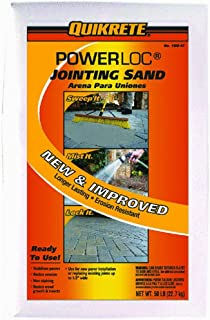 Quikrete 1150-47 Powerloc Jointing Sand, 50 Pounds