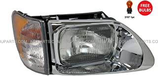 Headlight with CORNER LAMP - Passenger Side (Fit: International 9200 9400 5900)