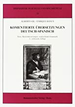 Gil, A: Kommentierte Übersetzungen Deutsch - Spanisch