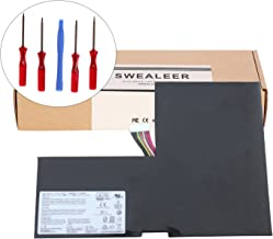 SWEALEER Compatible BTY-M6F Battery if Applicable MSI 6QE 2QE 2PE GS60 2PC 2PL 2QC 2QD 6QC MS-16H2 Replacement for 2PC-010CN 2PE-280CN 2PL-006XCN 2QC-022XCN 6QC-070XCN [11.4V 52.89Wh/4640mAh BTY-M6F]
