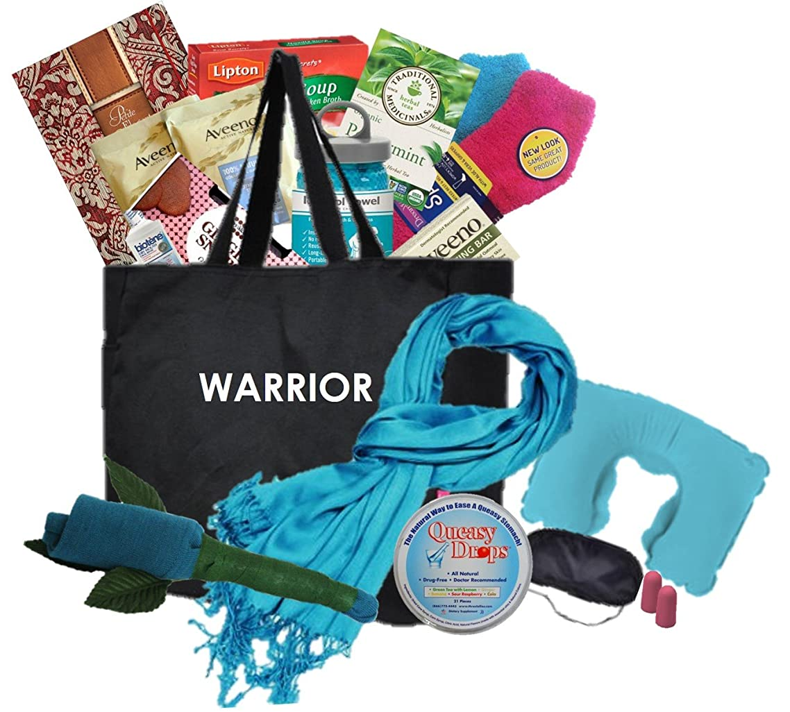 Just Don't Send Flowers The Big Queasy Cancer Care Package for Women - Warrior