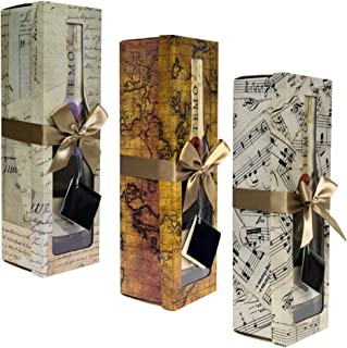 Best wine bottle gift boxes Reviews