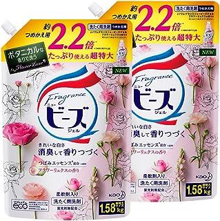 香水新鲜 衣料用洗涤剂 花香 替换装 1580g×2個 2