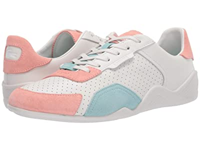 Lacoste Hapona 120 3 (Off-White/Light Pink) Women