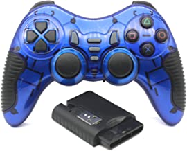 C-Zone 6 in 1 2.4G Wireless Technology Gamepad/Game Controller for PC/PS1/PS2/PS3/PC360/Android TV/TV Box/PC/Tablet-Blue