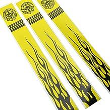 ZSHJG 12PCS Arrow Stickers Archery Arrow Adhesive Stickers Arrow Shaft Stickers Wraps