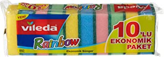 Vileda 4023103073241 Raibnow Sponge - 10 pcs