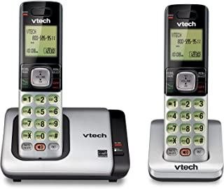 VTech CS6719-2 2-Handset Expandable Cordless Phone with Caller ID/Call Waiting, Handset Intercom & Backlit Display/Keypad