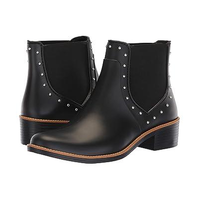 Bernardo Peyton Rain Boot (Black Rubber) Women