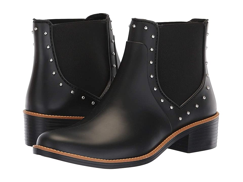 Bernardo Peyton Rain Boot (Black Rubber) Women