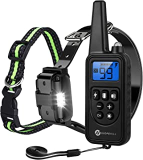 Slopehill Dog Training Collar, Waterproof Dog Shock...
