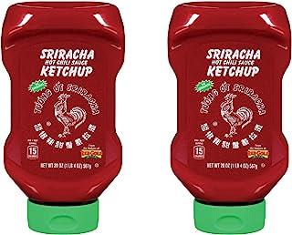 Huy Fong Ketchup Sriracha Style 20 Ounce (2 Pack)