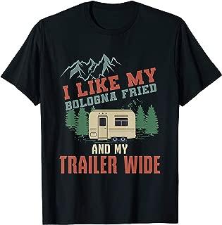 Funny Camper Trailer T Shirt Gift For The Redneck Humor Gift T-Shirt