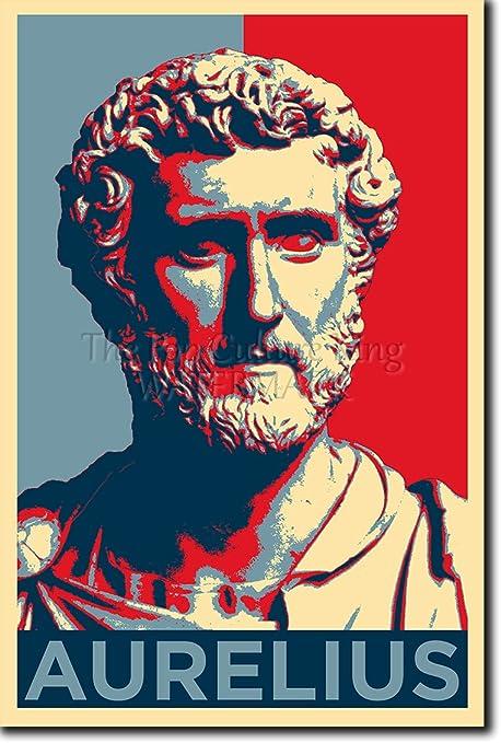 Tpck Marcus Aurelius Art Print Obama Hope Parody Glossy Photo Poster 30 X 20 Cm Küche Haushalt