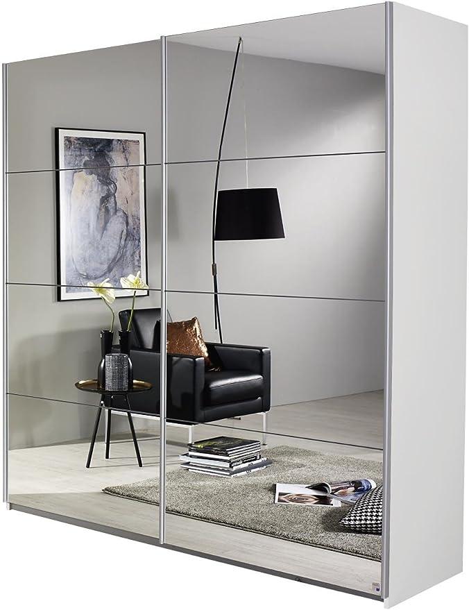 2-türig mit Spiegelfront Kleiderschränke mit Schiebetüren
