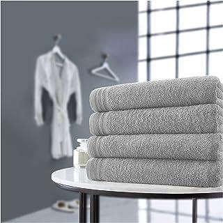 GC GAVENO CAVAILIA Premium 100% Combed Cotton Bath Sheets Set, Super Soft and Highly Absorbent Bathroom Towels, Wilsford, ...