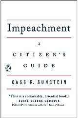 Impeachment: A Citizen's Guide (English Edition) Format Kindle