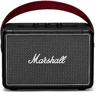 Marshall ワイヤレスポータブルスピーカー KILBURN II ブラック 連続再生20時間/IPX2防滴仕様/急速充電/Bluetooth/aptX対応/通話対応 【国内正規品】