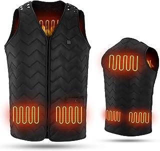 لباس زنانه جلیقه گرم شو قابل تنظیم برای مردان با بسته 10000 میلی آمپر ساعتی