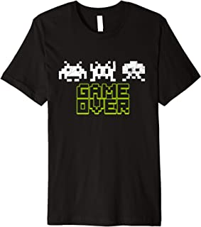 Space Alien Invaders Shirt 80s Vintage Game Gift