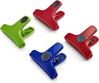 Farberware Colourworks Magnetic Bag Clips, Assorted, Set of 4