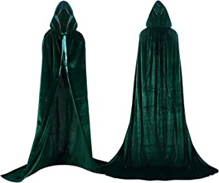 comprar comparacion Proumhang Largo Capa con Capucha Terciopelo Disfraz de Halloween para Mujeres Hombres Halloween Carnaval Navidad Fiesta Di...