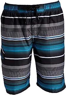 Kanu Surf Men's Seaside Swim Trunks (Regular & Extended Sizes)