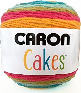 Caron Cakes Self Striping Yarn 1 Ball Rainbow Sherbet 7.1 ounces