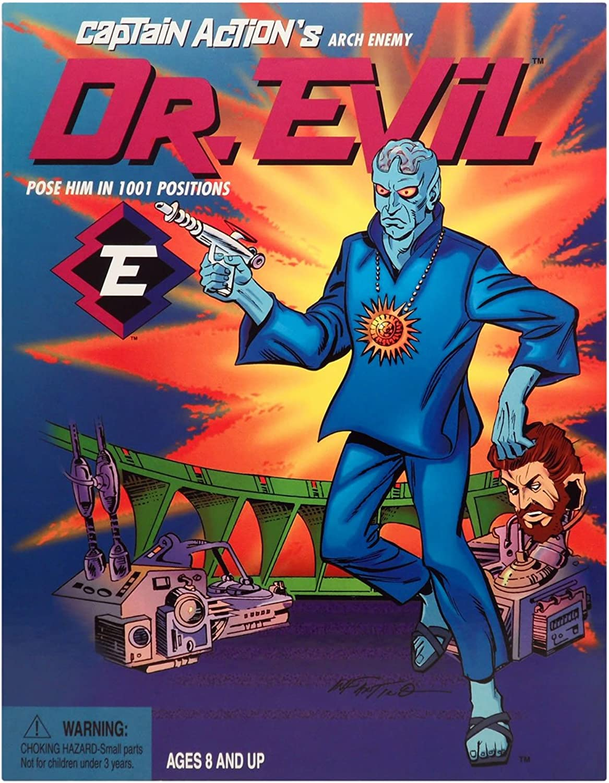 Captain Action Limited Edition Dr. Evil 12 inch Action Figure