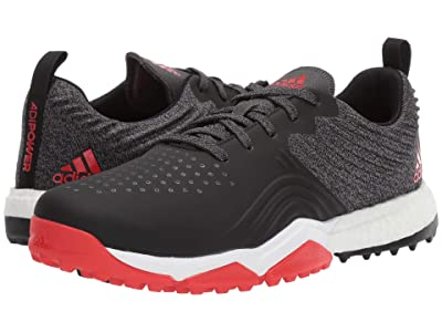 adidas Golf adiPower 4orged S (Black/Red/White) Men