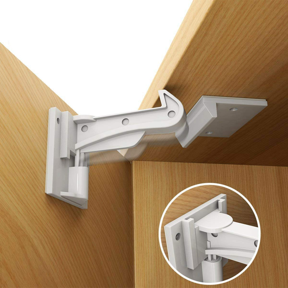67% OFF of fixed price Cabinet Locks Child Safety Baby Latches Kitche Proof for wholesale