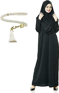 ملابس صلاة Avanos للمرأة المسلمة، صلاة حجاب العباءة الإسلامية نيكب بركا حجاب غطاء وجه ملابس فستان مسلم