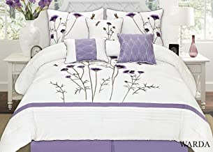 Best white and lavender bedding Reviews